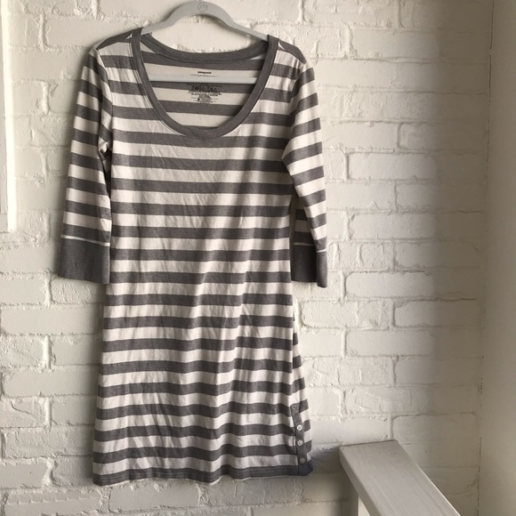 Patagonia Dresses & Skirts - Patagonia TShirt Dress Striped Medium EUC